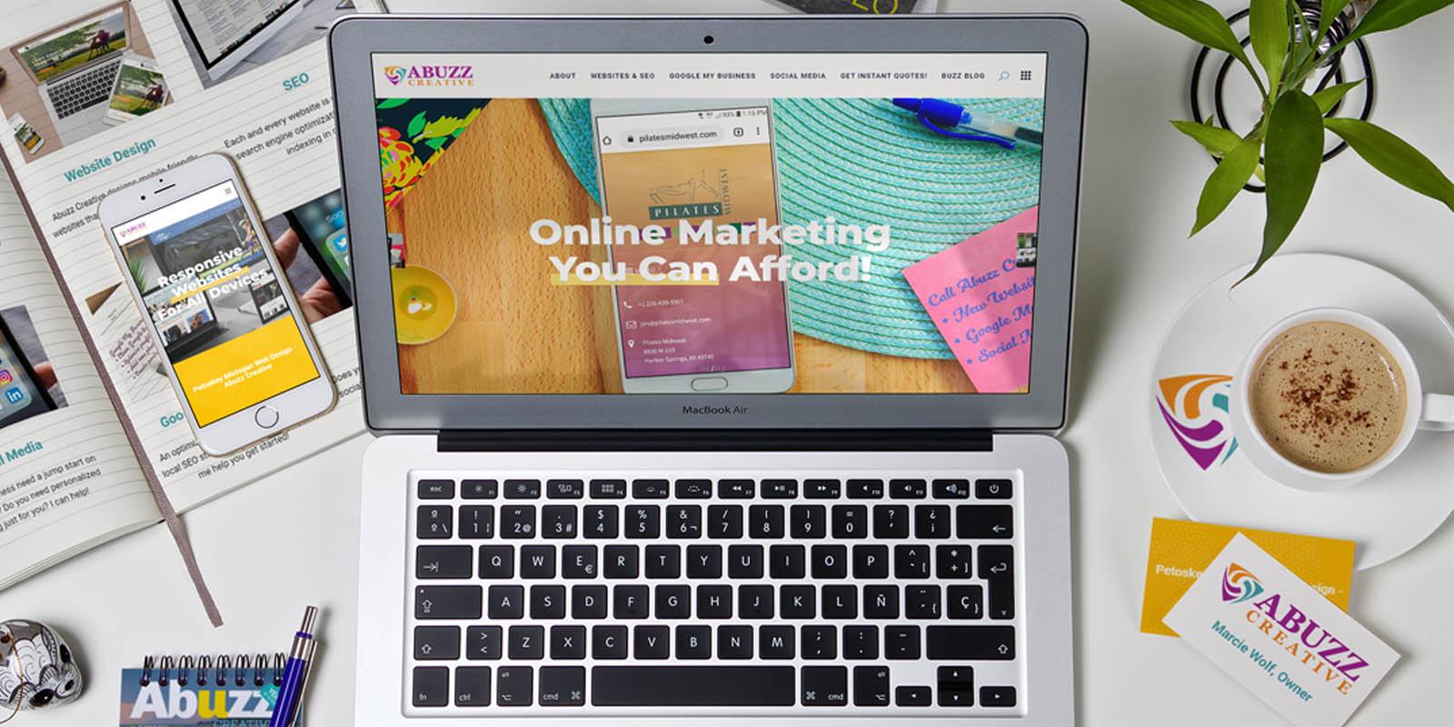 Social Media Marketing Abuzz Creative Northern Michigan